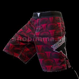 Throwdown Royal 2 Fight Shorts - Red