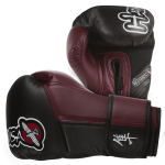 Hayabusa Tokushu 10oz Gloves - Black/Burnt Crimson