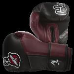 Hayabusa Tokushu 10oz Gloves - Black/Burnt Crimson