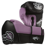 Hayabusa Tokushu 10oz Gloves - Black/Dark Orchid