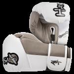 Hayabusa Tokushu 12oz Gloves - White/Desert Sand