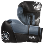 Hayabusa Tokushu 14oz Gloves - Black/Steel Blue