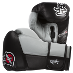 Hayabusa Tokushu 16oz Gloves - Black/Slate Grey