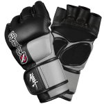 Hayabusa Tokushu 4oz MMA Gloves - Black/Slate Grey
