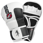 Hayabusa Tokushu 7oz Hybrid Gloves - Smoke White