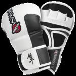 Hayabusa Tokushu 7oz Hybrid Gloves - Smoke White