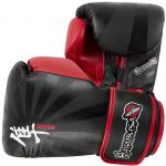 Hayabusa Ikusa 14oz Gloves - Black/Red