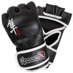Hayabusa Ikusa 4oz MMA Gloves Black
