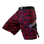 Throwdown Royal 2 Fight Shorts - Red