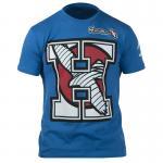 Team H T-shirt - Blue - Hayabusa