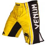 "Venum ""Championship Edition"" Fightshorts - by Carlos Condit - Yellow"