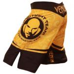 Venum Wanderlei Silva Fightshorts -Yellow / Black