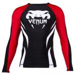 "Venum ""Electron 2.0"" Rashguard - Black - Long Sleeve"