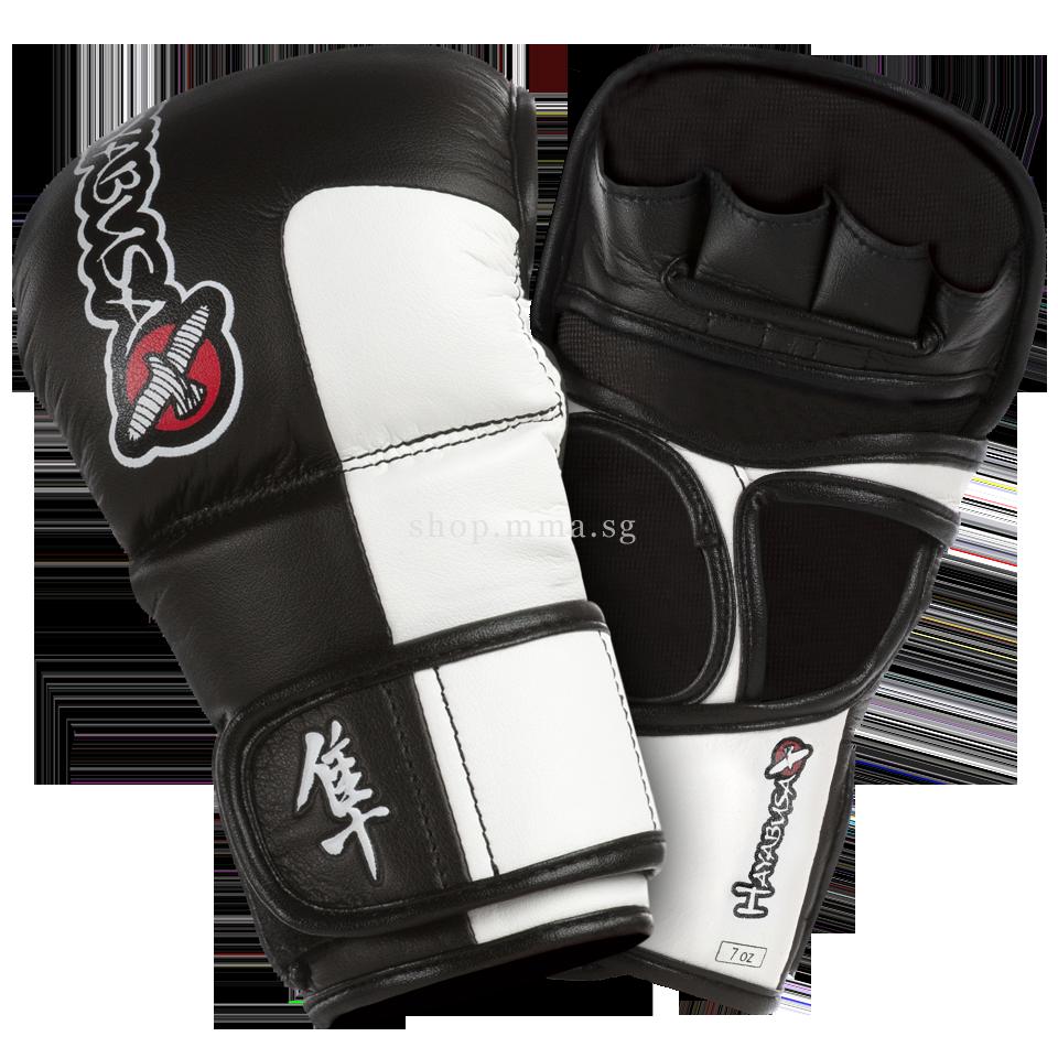 Black gloves singapore - Hayabusa Tokushu 7oz Hybrid Gloves Midnight Black