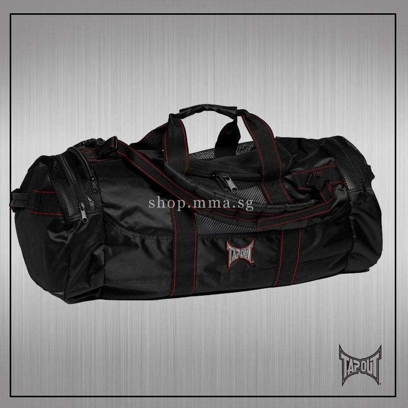 Tapout Equipment Bag Tapout Utility Bag Blk Red